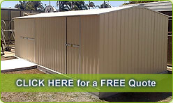 Custom built Sheds on the Sunshine Coast - Free Quote